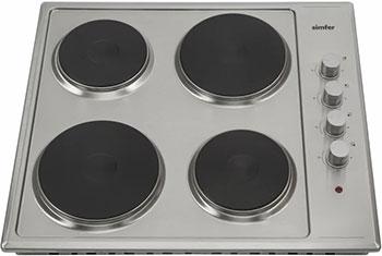 Встраиваемая электрическая варочная панель Simfer H 60 E 04 M 011 встраиваемая газовая варочная панель simfer h 60 m 41 o 412
