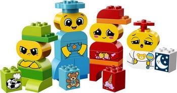 Конструктор Lego DUPLO My First: Мои первые эмоции 10861