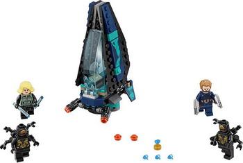 Конструктор Lego Super Heroes: Атака всадников 76101 sy180 8pcs lot new hot super heroes star war avenger kid baby toy building blocks sets model toys brick