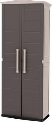 Шкаф Keter Boston Tall Utility Shed серый 17200891