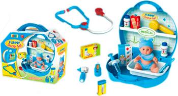 Игровой набор SS Toys ''Доктор'' с пупсом 100652905