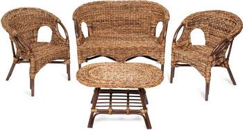 Комплект мебели Tetchair Mandalino 05/21(Плетение - Банановые листья) 4452