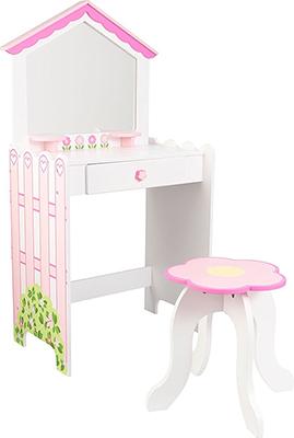 Туалетный столик KidKraft ''Кукольный домик'' 13035_KE туалетный столик kidkraft кукольный домик 13035 ke