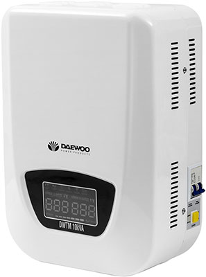 Стабилизатор напряжения Daewoo Power Products DW-TM 10 kVA стабилизатор daewoo dw tzm500va basic line