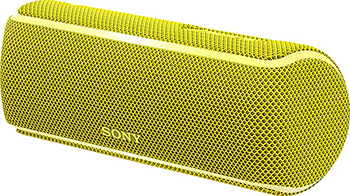 Портативная акустика Sony SRS-XB 21 Y желтый 2 5 inch mini bi xenon hid projector lens with dual angel eyes shrouds xenon kit h1 h4 h7 retrofit car assembly kit new version