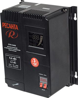 все цены на Стабилизатор напряжения Ресанта СПН-5400