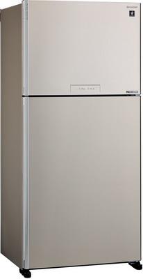 Фото - Двухкамерный холодильник Sharp SJ-XG 60 PMBE двухкамерный холодильник hitachi r vg 472 pu3 gbw