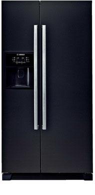Холодильник Side by Side Bosch KAN 58 A 55 холодильник side by side samsung rs552nrua9m