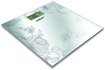 Весы напольные Scarlett SC-215 R серебро весы напольные электронные scarlett sc bs33e063