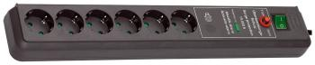 Сетевой фильтр Brennenstuhl Secure-Tec 6 розеток (1159540376) brennenstuhl primera tec automatic extension socket сетевой фильтр white