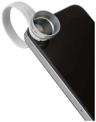 Объектив для смартфонов Defender Lens x2 приближает в 2 раза 29998