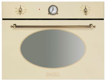 Встраиваемый электрический духовой шкаф Smeg SF 4800 MCPO электрический духовой шкаф smeg sf700po