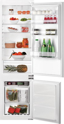 Встраиваемый двухкамерный холодильник Hotpoint-Ariston B 20 A1 DV E/HA цена и фото