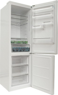 Двухкамерный холодильник Leran CBF 215 W leran g 60401 ix