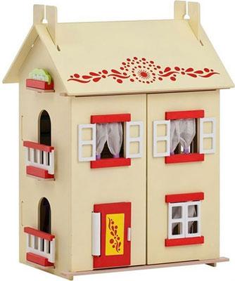 Кукольный дом Paremo PD 115-02 София с 15 предметами мебели кукольный домик paremo милана с 15 предметами мебели