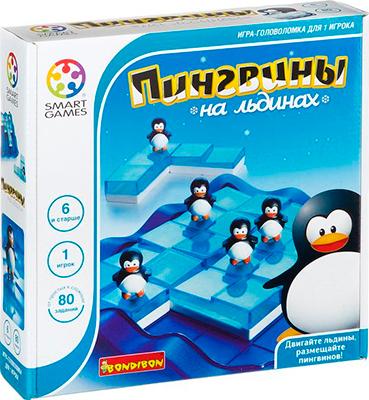 Настольная игра Bondibon Пингвины на льдинах ВВ0851 логическая игра bondibon smartgames пингвины на льдинах