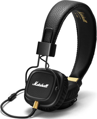 Наушники Marshall Major II Black наушники marshall major ii android black