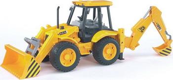 Экскаватор – погрузчик колёсный JCB 4CX Bruder 02-428 25 222416 12v solenoid valve for jcb 3cx 4cx backhoe loader