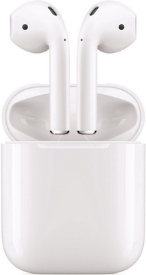Наушники Apple AirPods MMEF2ZE/ с зарядным чехлом