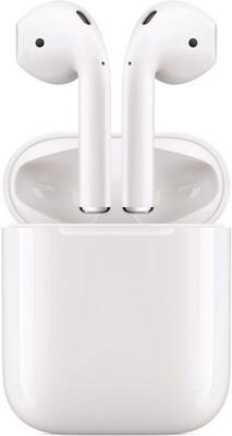 Наушники Apple AirPods MMEF2ZE/A с зарядным чехлом picun p3 hifi headphones bluetooth v4 1 wireless sports earphones stereo with mic for apple ipod asus ipads nano airpods itouch4