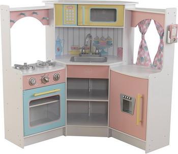 Деревянная кухня KidKraft Делюкс 53368_KE деревянная игровая кухня kidkraft делюкс мини bright toddler kitchen 53378 ke