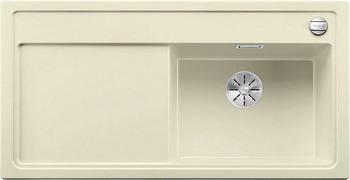 Кухонная мойка BLANCO ZENAR XL 6S (чаша справа) SILGRANIT жасмин с кл.-авт. InFino 523949 кухонная мойка blanco zenar xl 6s compact шампань чаша справа доска стекло c кл авт infino 523760