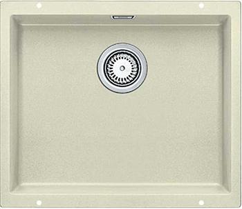 Кухонная мойка BLANCO 523437 SUBLINE 500-U SILGRANIT жасмин с отв.арм. InFino кухонная мойка blanco subline 350 350 u silgranit жасмин с клапаном автоматом