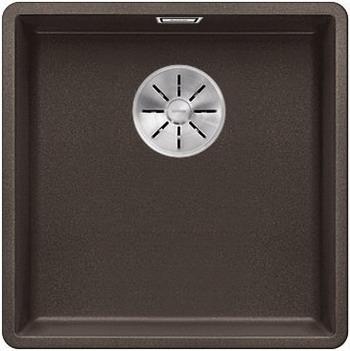 Кухонная мойка BLANCO SUBLINE 400-F кофе с отв.арм. InFino 523499 мойка subline 400 f jasmine 519800 blanco