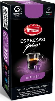 Кофе капсульный Palombini Espresso PIU Intenso Nespresso palombini pal oro