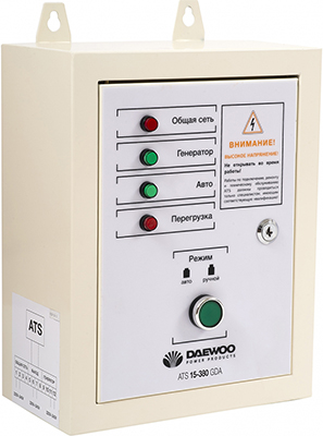 Блок автоматики Daewoo Power Products ATS 15-380 GDA проводной и dect телефон foreign products vtech ds6671 3