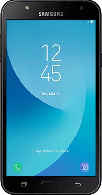 Мобильный телефон Samsung Galaxy J7 Neo SM-J 701 F/DS черный смартфон samsung galaxy j7 2016 sm j710fn gold
