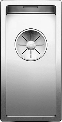 Кухонная мойка BLANCO CLARON 180-IF нерж. сталь зеркальная полировка 521564 кухонная мойка melana mln 78x48 0 8 180