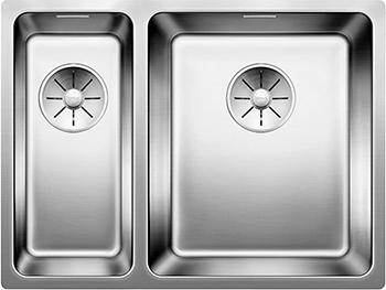 Кухонная мойка BLANCO ANDANO 340/180-IF нерж.сталь зеркальная полировка без клапана-автомата правая цена