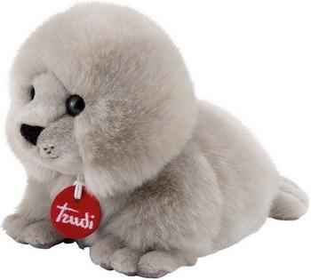 Мягкая игрушка Trudi Тюлень-пушистик 29016 мягкие игрушки trudi белый тюлень 58 см