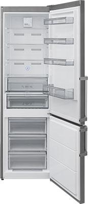 Двухкамерный холодильник Jackys JR FI 2000 нержавеющая сталь термоконтейнер арктика 2000 30 л зеленый