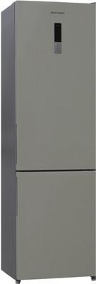 Двухкамерный холодильник Shivaki BMR-2019 DNFBE холодильник shivaki bmr 2013dnfw двухкамерный белый