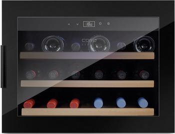 Встраиваемый винный шкаф CASO WineSafe 18 EB Black винный шкаф до 140 см caso winesafe 12 classic