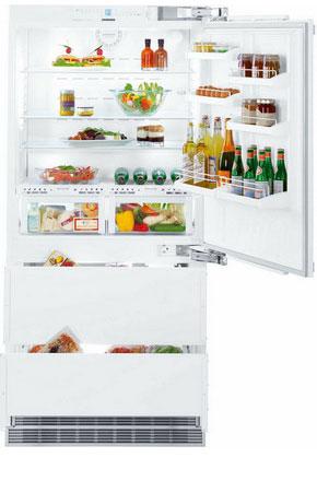 Встраиваемый многокамерный холодильник Liebherr ECBN 6156 встраиваемый винный шкаф liebherr ewtgb 1683 черный