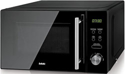 Микроволновая печь - СВЧ BBK 20 MWG-732 T/B-M чёрный микроволновая печь supra mwg 2232tb