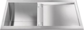 Кухонная мойка Smeg LQR 861-2 кухонная мойка smeg lqvn 862 1