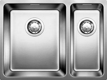 Кухонная мойка BLANCO ANDANO 340/180-IF нерж.сталь полированная без клапана-автомата чаша слева  мойка andano 340 180 if left 518324 blanco