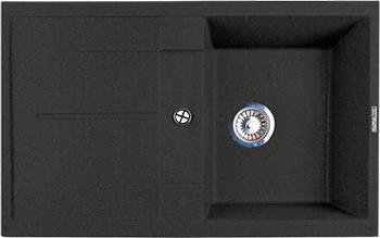 Кухонная мойка LAVA L.6 (BASALT чёрный) кухонная мойка lava l 2 basalt чёрный