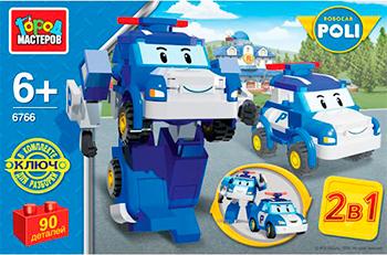 Конструктор Город мастеров Робот - полицейская машина город мастеров конструктор супер робот город мастеров