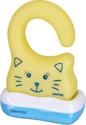 Ночник Switel BC 190 желтый с голубым автоматический детский ночник с функцией радионяни switel bc110