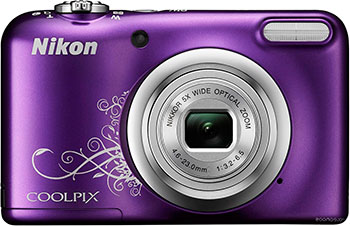 Цифровой фотоаппарат Nikon COOLPIX A 10 Purple Lineart фотоаппарат nikon coolpix a100 purple lineart