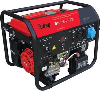 Электрический генератор и электростанция FUBAG BS 7500 A ES шуруповерт электрический fit es 321