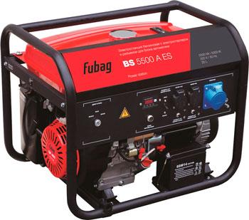 Электрический генератор и электростанция FUBAG BS 5500 A ES шуруповерт электрический fit es 321
