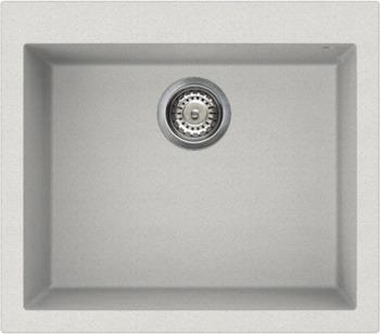 Кухонная мойка OMOIKIRI Bosen 57-WH Tetogranit/белый (4993148)