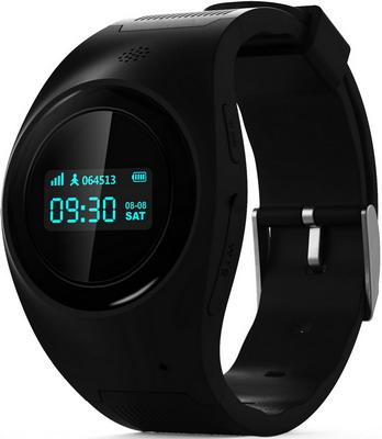 Детские часы-телефон MyRope R 11 черные