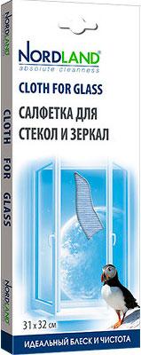 Салфетка из микрофибры NORDLAND 391558 средство для стекла и зеркал nordland 391329